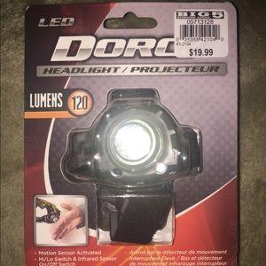 Brand new w/tags! Dorcy LED headlamp. 120 Lumens!